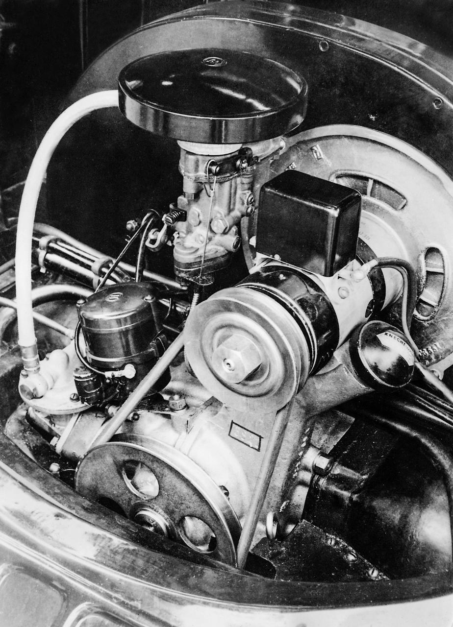 Ancien carburateur essence
